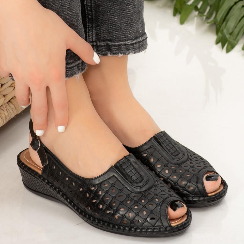 Sandale dama Aluk negre