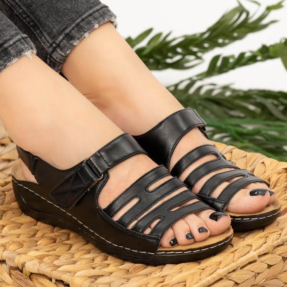 Sandale dama Lud negre