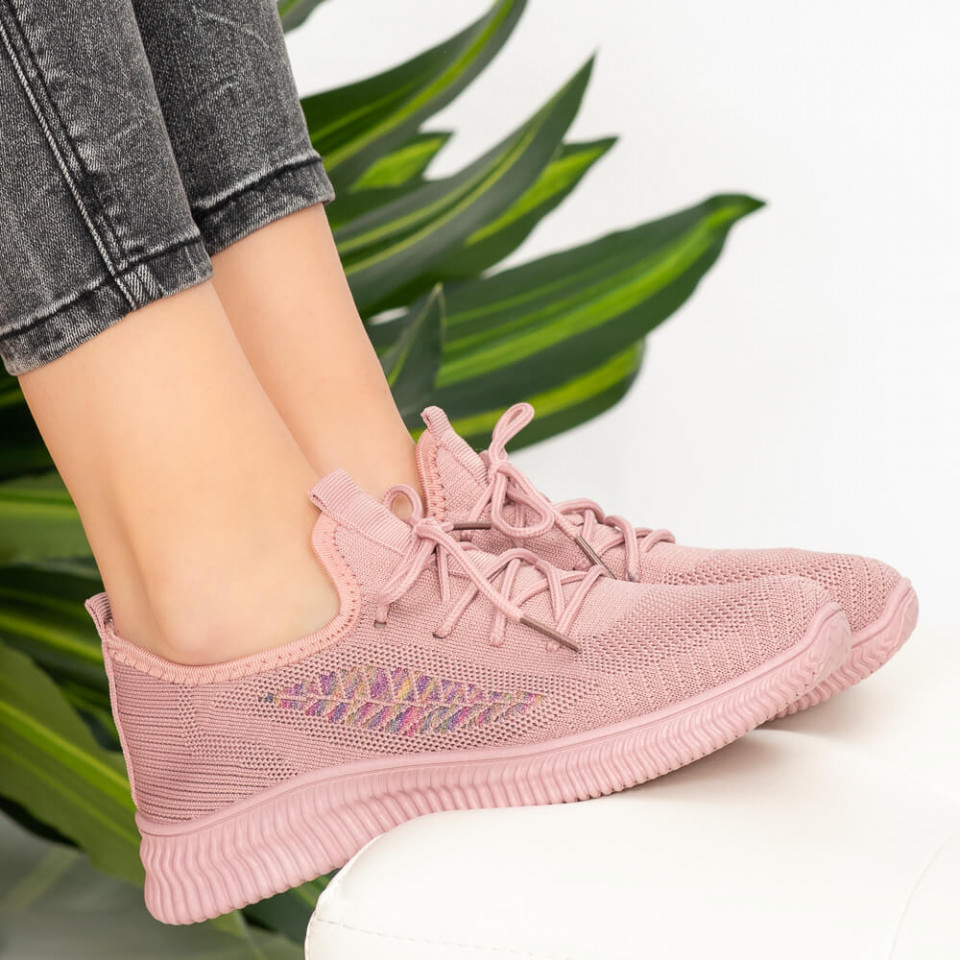 Adidasi dama Pie roz