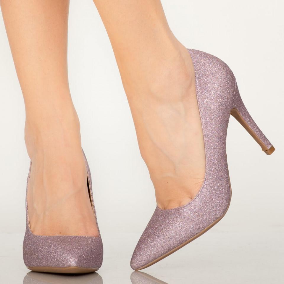 Pantofi dama Sure mov
