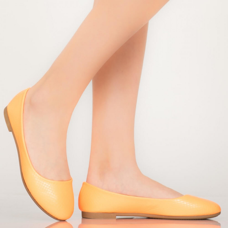 Pantofi casual Bart portocalii