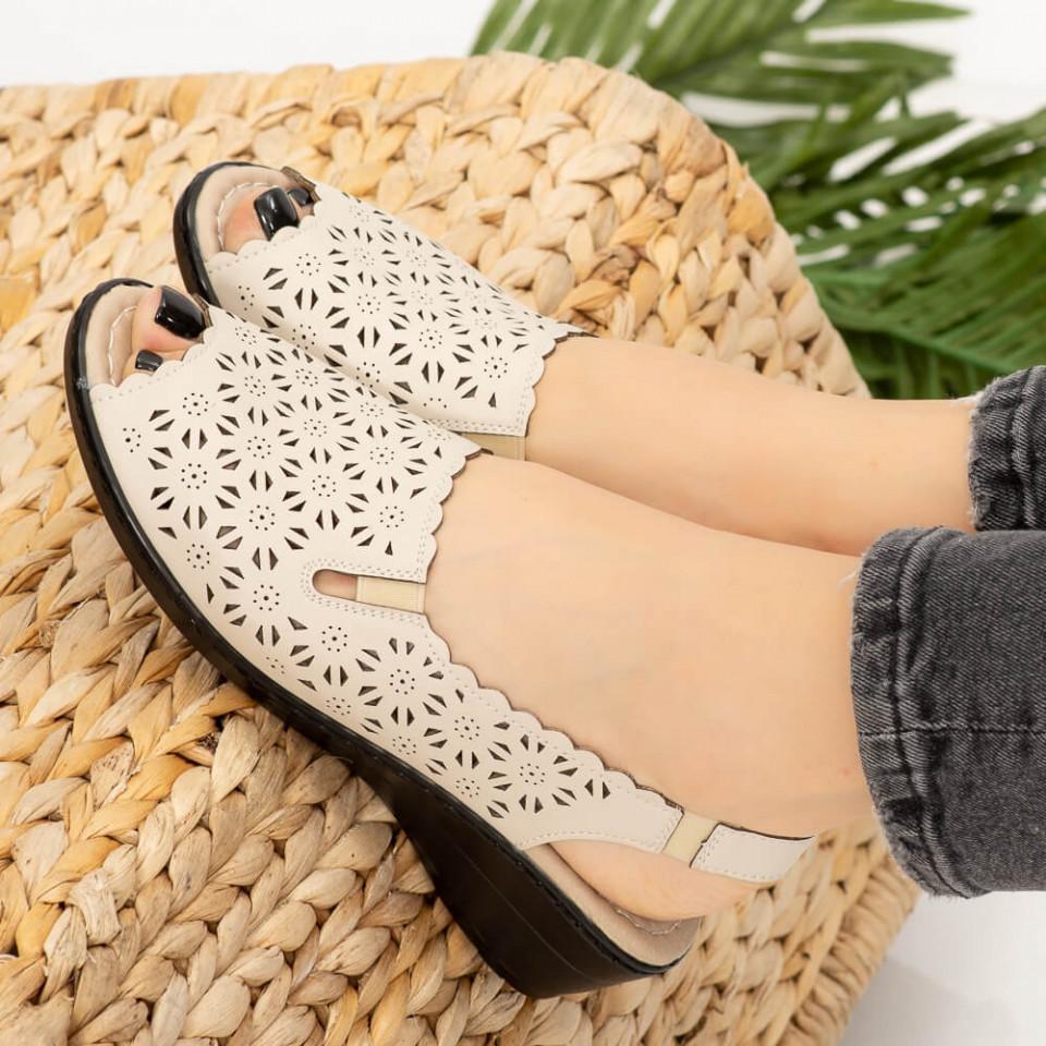 Sandale dama Gosa bej
