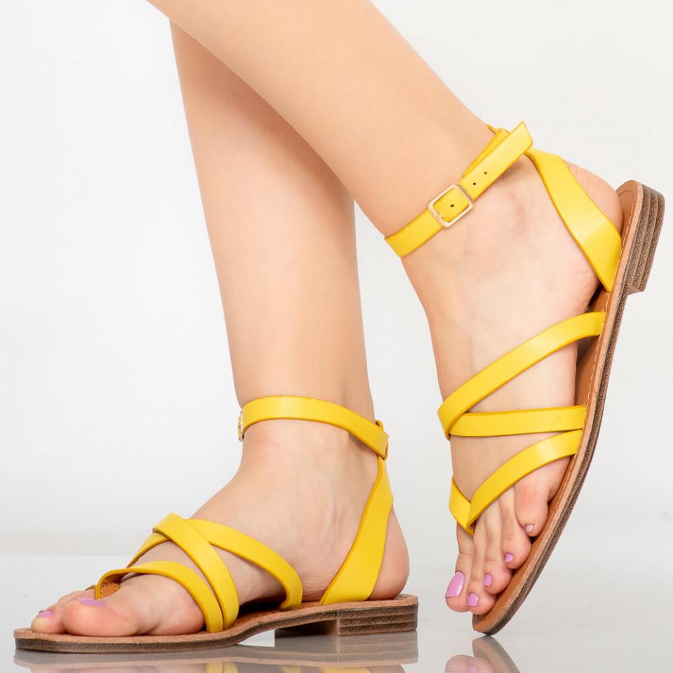 Sandale dama Tama galbene