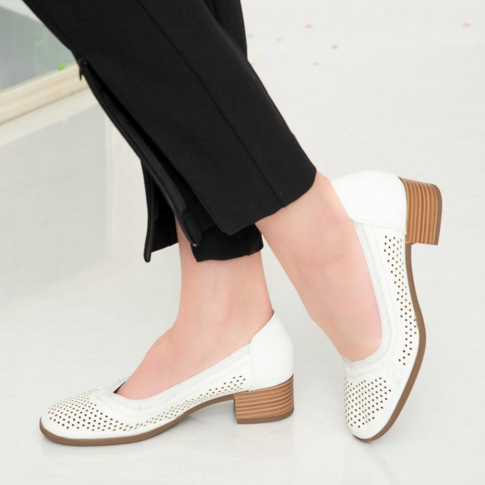 Sandale dama Ain albe