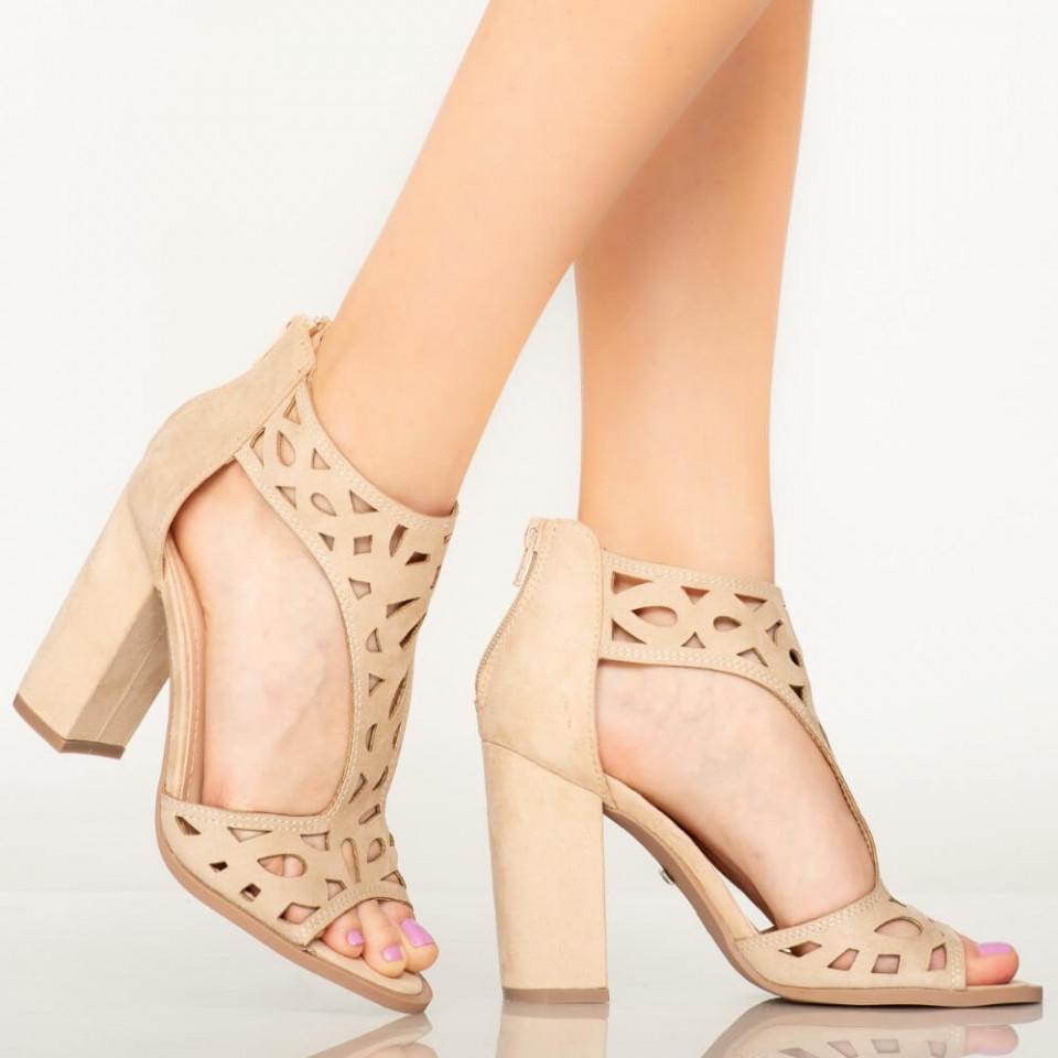 Sandale dama Erth bej