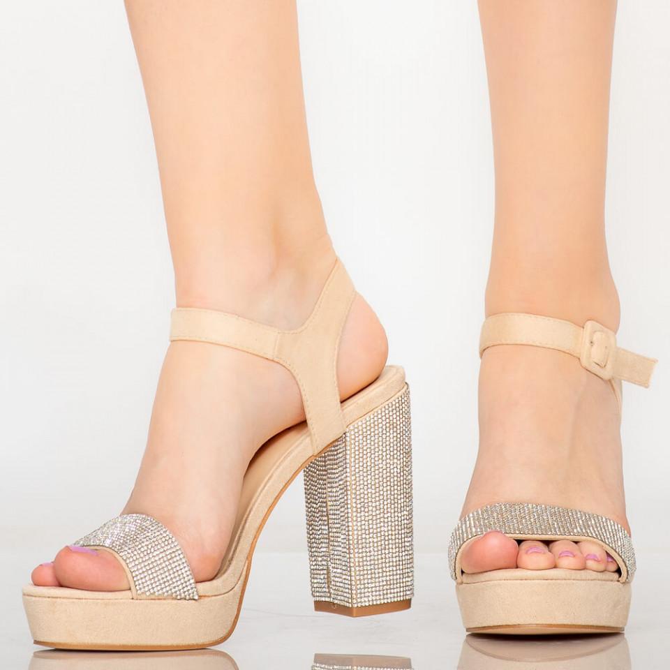 Sandale dama Aiga bej