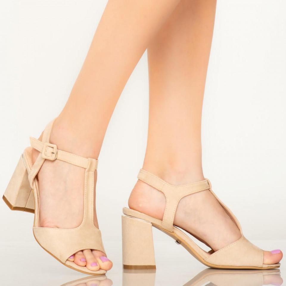 Sandale dama Dalu bej