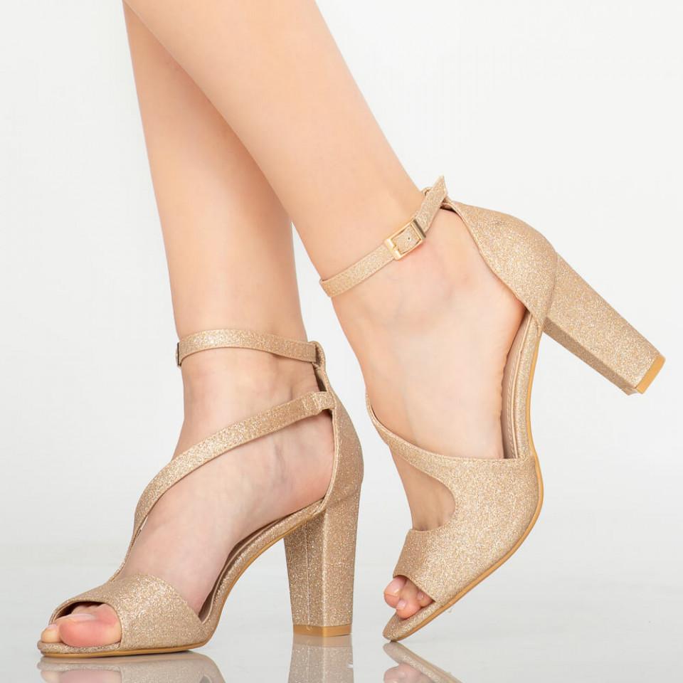Sandale dama Ember aurii