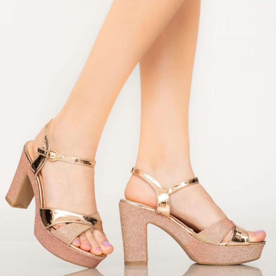 Sandale dama Mert roze