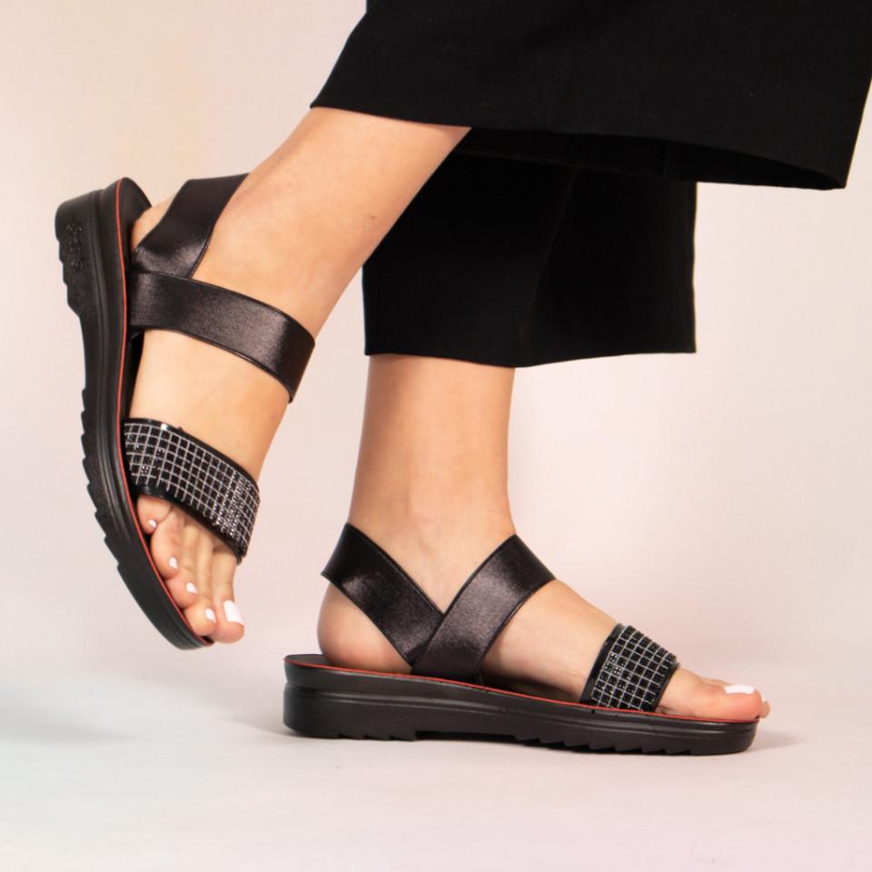 Sandale dama Poto negre