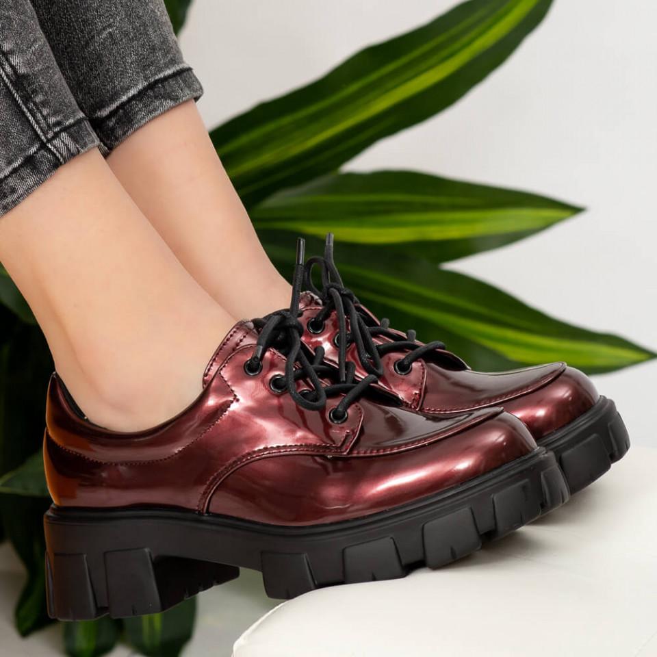 Pantofi casual Ioan bordo