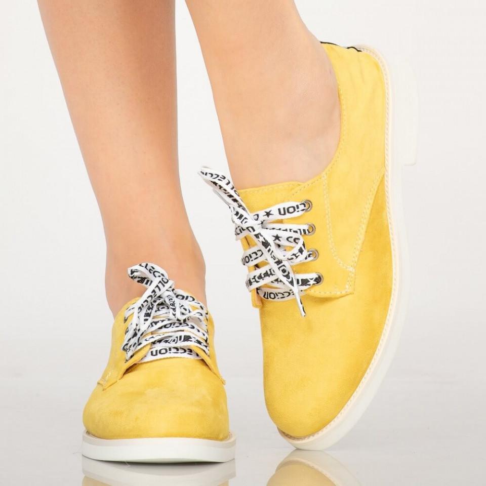 Pantofi casual Tala galbeni