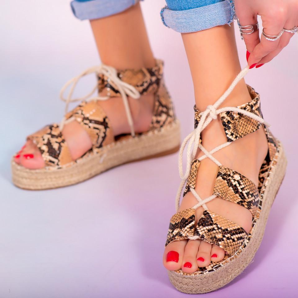 Sandale dama Hevo snake