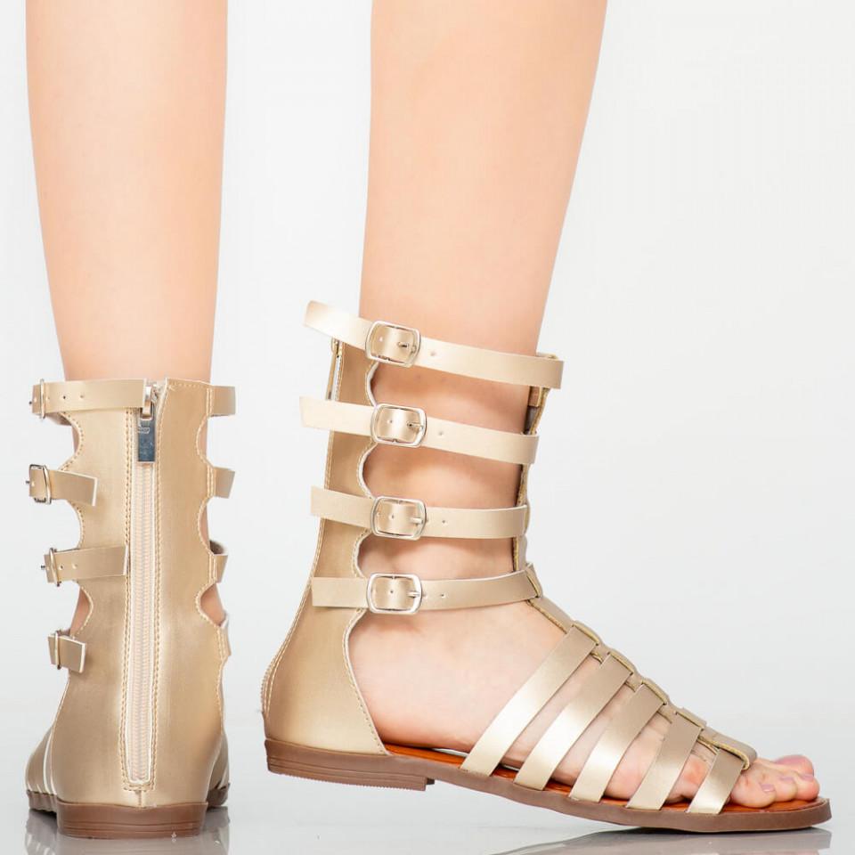 Sandale dama Rofa aurii