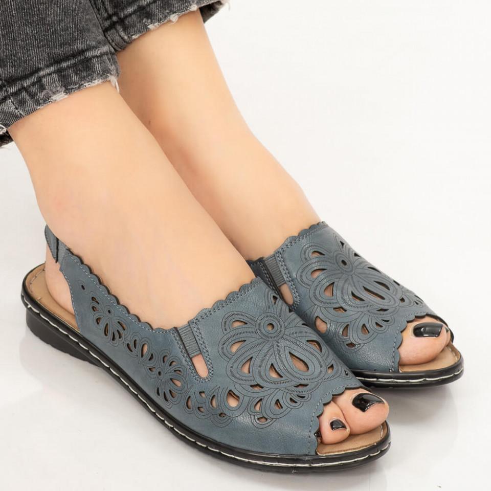 Sandale dama Biru albastre