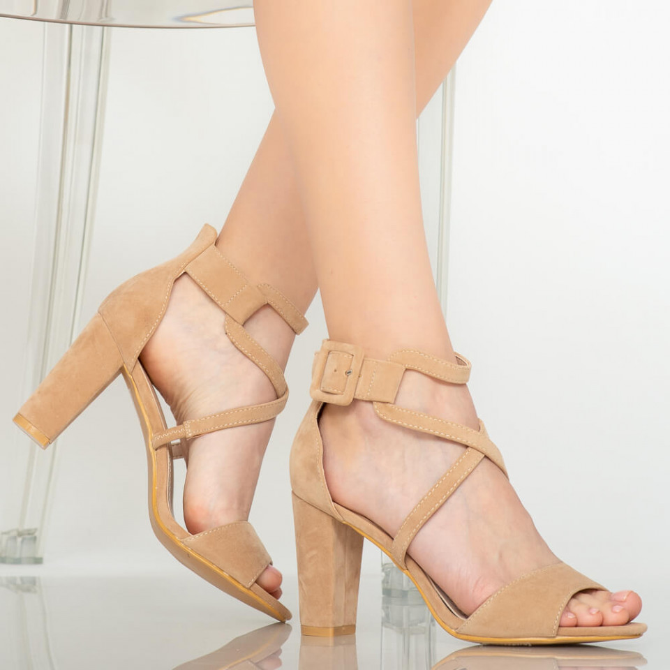 Sandale dama Chara bej