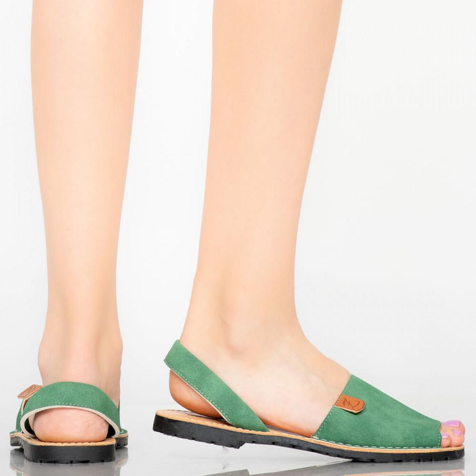 Sandale dama Elep verzi