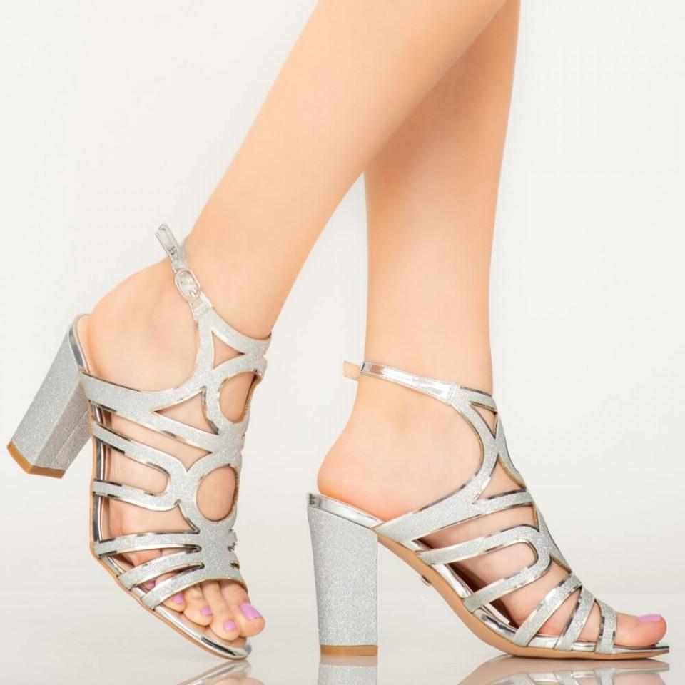 Sandale dama Mura argintii