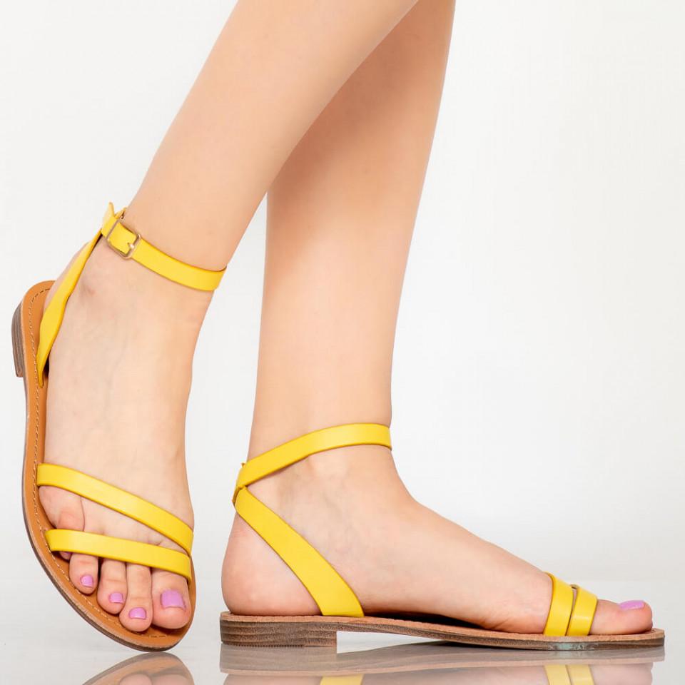 Sandale dama Sou galbene