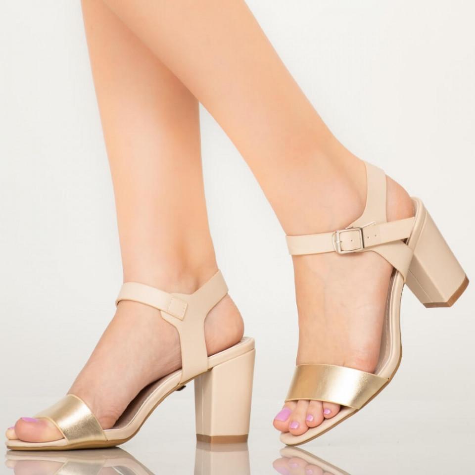 Sandale dama Ston bej