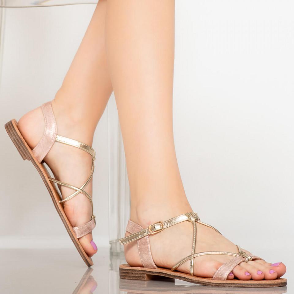 Sandale dama Zofu roz