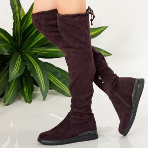 Γούνινες μπότες Olo mov