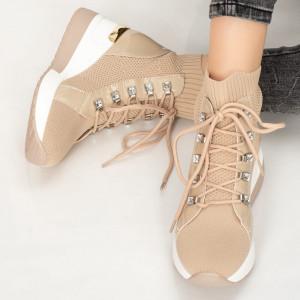 Γυναικείες μπότες Malo μπεζ