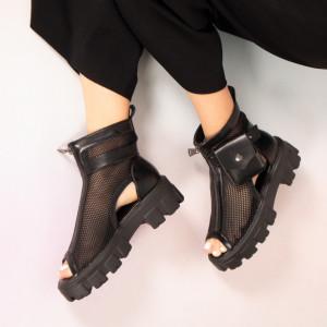 Черни летни ботуши Пино