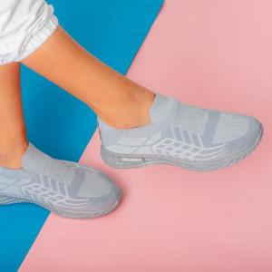 Adidasi κυρία Lany γκρι
