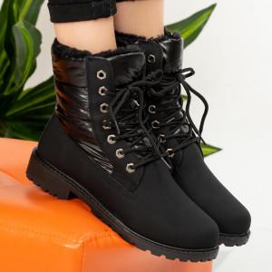 Black Gods fur boots