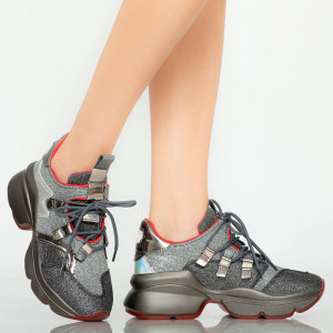 Damon fekete cipők