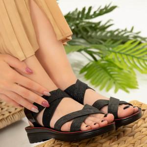Elara lady sandals black