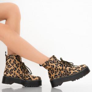Ghete dama Glory leopard