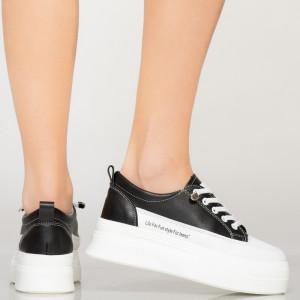Női fekete Maula tornacipő