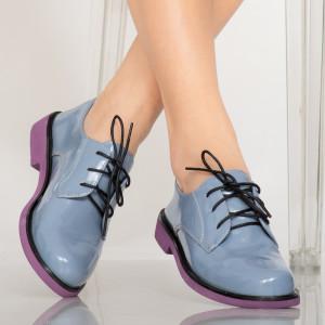 Pantofi casual Erty albastri