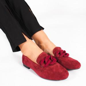 Pantofi Casual KALY Bordo