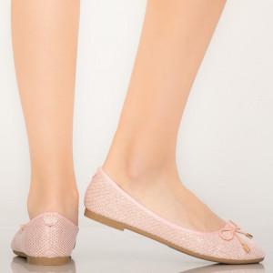 Pantofi casual Lenu roz