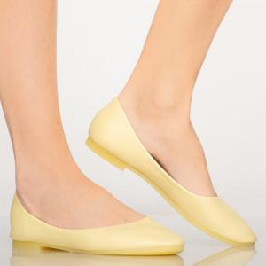 Pantofi casual Pary galbeni