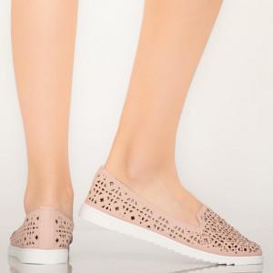 Pantofi casual Vela roz