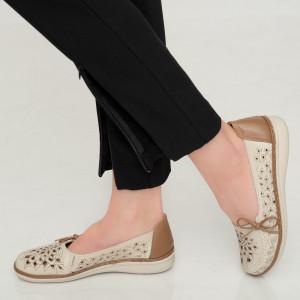 Pantofi dama Aco bej