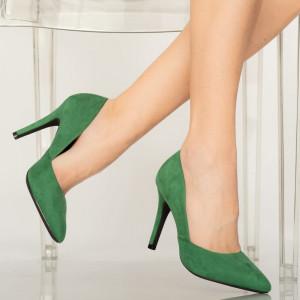 Pantofi dama Druna verzi