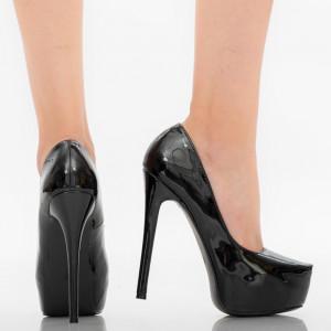 Pantofi dama Kayla negri