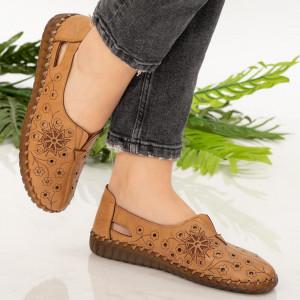 Pantofi dama Mirar camel