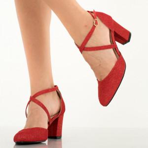 Pantofi dama Rama rosii
