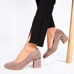 Pantofi Dama Rica Gri