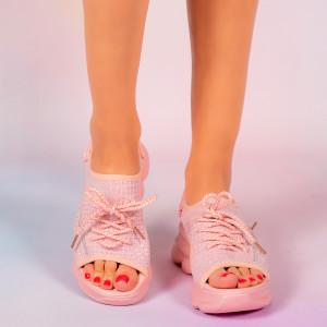 Platforme dama Mani roz