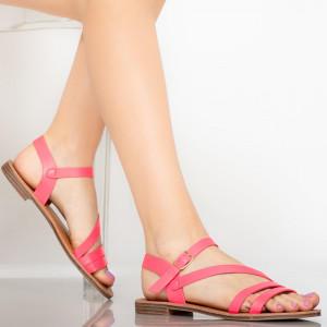 Rika fuchsia lady's sandals