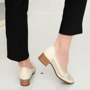 Sandale dama Ain bej