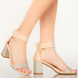 Sandale dama Aria bej
