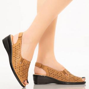 Sandale dama Gosa camel